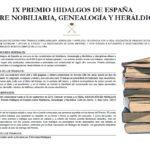 Convocatoria IX Premio HDE